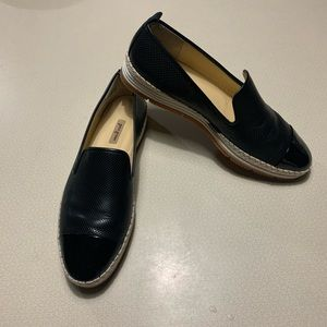 Paul Green Womens Leather Posh Slip On Loafers